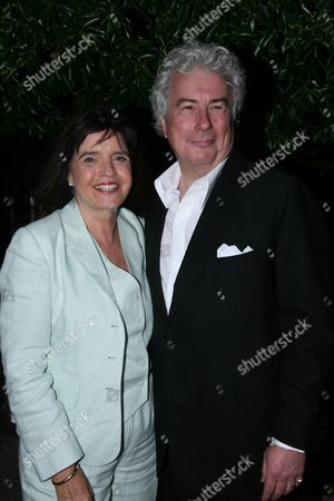 Annual Garden Party Carlyle Square Chelsea Ken and Barbara Follett