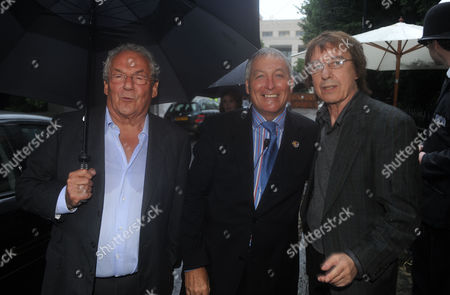 Annual Summer Garden Party in Carlyle Square Chelsea Johnny Gold Jerry Judge & Bill Wyman