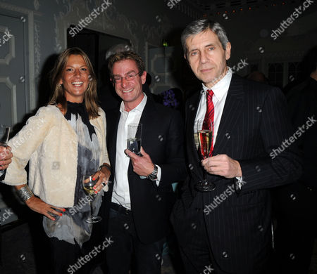 Knighthood Party at the Orchard Suite Dorchester Hotel Tania Foster Brown Sir Stuart Rose