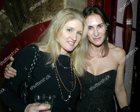 Spear's Wealth Management 10th Birthday Party at Molton House South Molton Street London Birgit Cunningham & Laetitia Cash