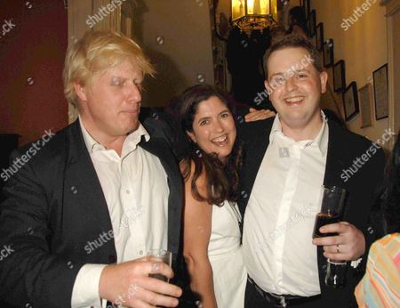 Spectator Magazine Summer Party at the Spectator Offices in Doughty Street Boris Johnson Mp Kimberley Fortier and Matthew D'ancona
