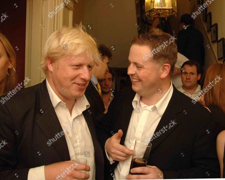 Spectator Magazine Summer Party at the Spectator Offices in Doughty Street Boris Johnson Mp and Matthew D'ancona