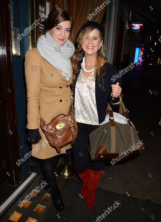 Stock Image of 'Strangers On A Train' Press Night at the Gielgud Theatre and Afterparty at Cafe De Paris Imogen Stubbs and Her Daughter Ellie Nunn