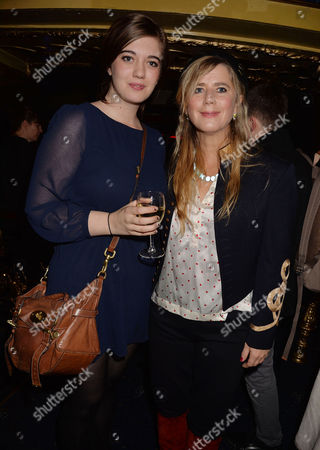 Stock Picture of 'Strangers On A Train' Press Night at the Gielgud Theatre and Afterparty at Cafe De Paris Imogen Stubbs and Her Daughter Ellie Nunn