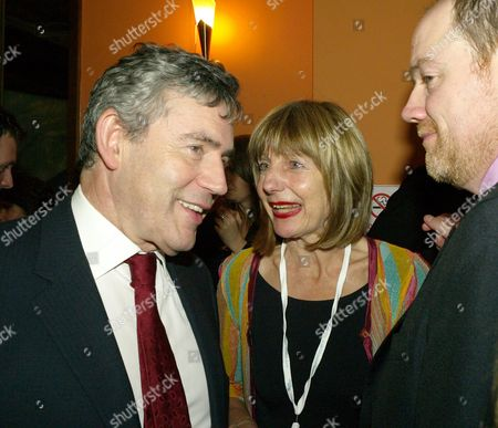 the 2007 Labour Party Conference in Bournemouth Monday Night Parties the Guardian Party Carole Stone and Gordon Brown