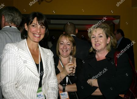the 2007 Labour Party Conference in Bournemouth Monday Night Parties the Guardian Party Guardian Media Ceo Caroline Mccall (l) with Friends