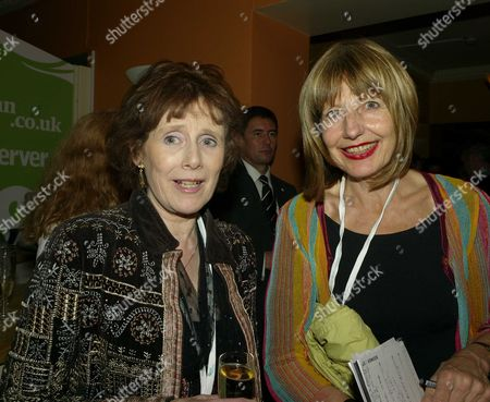 the 2007 Labour Party Conference in Bournemouth the Guardian Party Monday Night Marjorie Wallace and Carole Stone