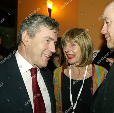the 2007 Labour Party Conference in Bournemouth the Guardian Party Monday Night Gordon Brown and Carole Stone