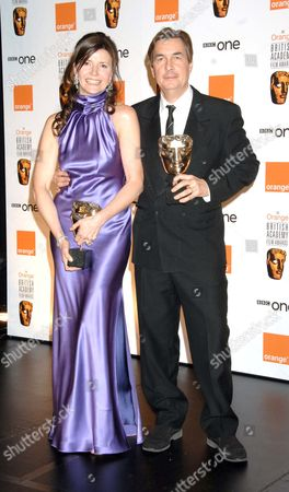 the 2007 Orange British Academy Film Awards Sponsored by Orange at the Royal Opera House Covent Garden Best Film For 'The Queen' - Christine Langan and Andy Harries