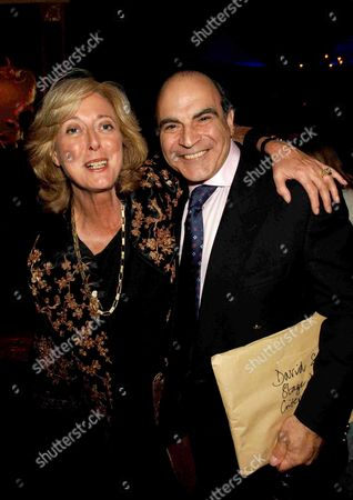 1st Night Party For the 39 Steps at the Cafe De Paris Coventry Street London David Suchet & Maria Aitken