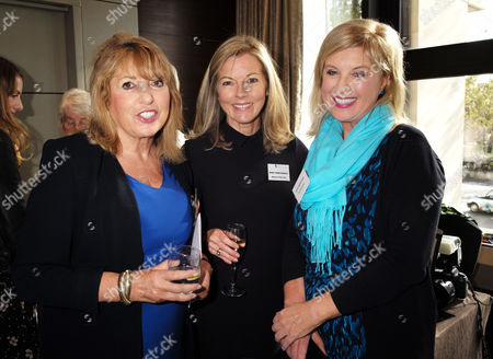 Stock Photo of London, United Kingdom, 17th October 2016: Lady Eve Pollard, Mary Nightingale & Lucy Meacock at the 61st Women of the Year Lunch and Awards at the Park Hotel in London On the 17th October 2016.