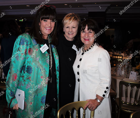 London, United Kingdom, 17th October 2016: Baroness Gail Rebuck, Lindsay Nicholson & Helena Kennedy, Baroness Kennedy of the Shaws at the 61st Women of the Year Lunch and Awards at the Park Hotel in London On the 17th October 2016.