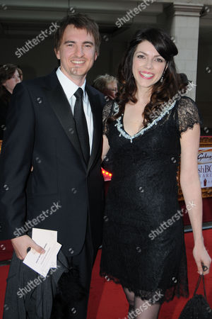 the Galaxy Book Awards at the Grosvenor House Hotel Park Lane Kate Morton with Her Husband