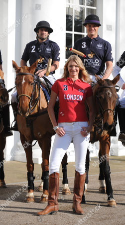 The Launch of the World Polo Series at the Hurlingham Club London England the World Polo Series Will Begin at Hurlingham Park For A 3 Day Extravaganza Henry Brett Jodie Kidd & Jack Kidd