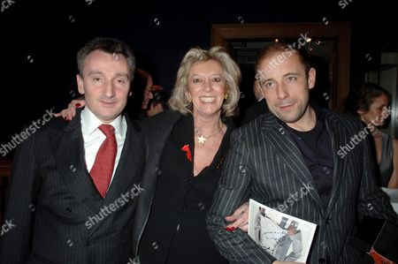 the Lighthouse Gala Auction Raise Funds For Terrence Higgins Trust at Christie's King Street Andrew Davis Chairman of Von Essen Hotels with Marie-claire Baroness Von Alvensleben