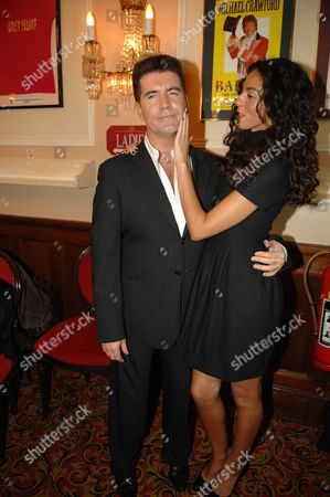 A Charity Gala Performance of 'Billy Elliot the Musical' in Aid of the Easington Branch of Children's Charity the Place2be at the Victoria Palace Theatre London Simon Cowell with His Girlfriend Teri Seymour