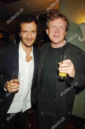 the Queen Premiere After-party at the Mirabelle Restaurant Curzon Street David Heyman and Duncan Heath