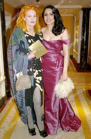 Third Fortune Forum Summit at the Dorchester Hotel Park Lane Vivienne Westwood and Renu Mehta