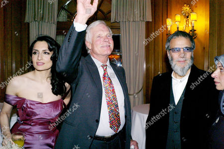 Third Fortune Forum Summit at the Dorchester Hotel Park Lane Renu Mehta Ted Turner and Yusuf Islam