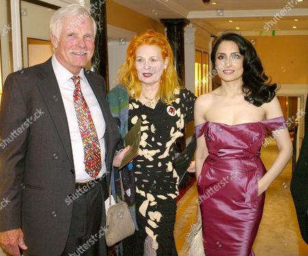 Third Fortune Forum Summit at the Dorchester Hotel Park Lane Ted Turner Vivienne Westwood and Renu Mehta
