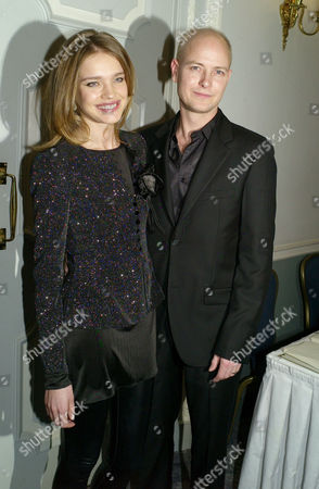 Third Fortune Forum Summit at the Dorchester Hotel Park Lane Lord Justin Portman with His Wife Natalia Vodianova