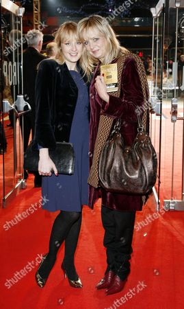 Uk Premiere of 'Australia' at the Odeon Leicester Square Twiggy with Her Daughter Carly Witney