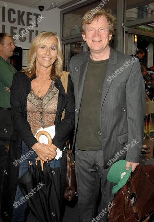 Uk Premiere of 'Hairspray' at the Odeon Westend Leicester Square Duncan Heath with His Ex-wife Hilary