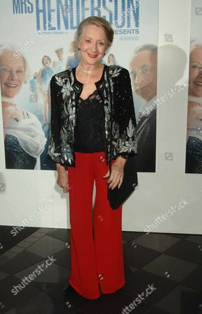 Uk Premiere of 'Mrs Henderson Presents' at the Vue Cinema Leicester Square London Thelma Barlow
