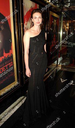 Uk Premiere of 'V For Vendetta' at the Empire Leicester Square Natasha Wightman