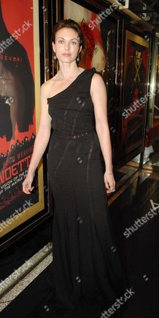 Stock Image of Uk Premiere of 'V For Vendetta' at the Empire Leicester Square Natasha Wightman