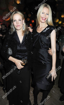 Vogue Fantastic Fashion Fantasy Party in Association with Van Cleef & Arpels at One Marylebone Road Bay Garnett and Claudia Schiffer