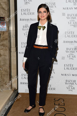 London, England 31st October 2016: Daisy Bevan at the Harper's Bazaar Women of the Year Awards Held at Claridge's, Brook Street in London On the 31st October 2016.