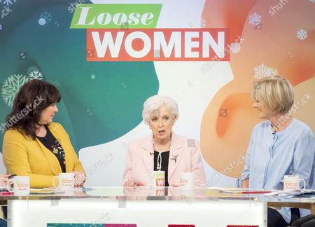 Coleen Nolan, June Whitfield, Jane Moore