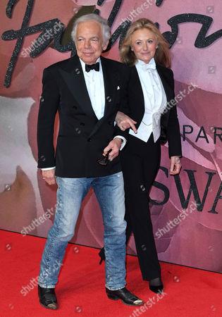 Ralph Lauren and Ricky Anne Loew-Beer