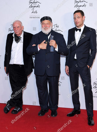Bruce Weber - Isabella Blow Award for Fashion Creator with David Bailey and James Jagger
