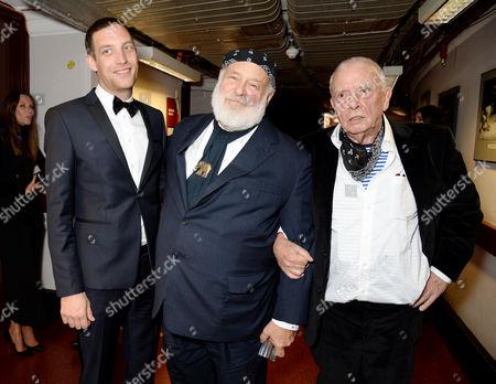 James Jagger, Bruce Weber - Isabella Blow Award for Fashion Creator and David Bailey