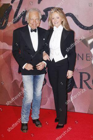 Ralph Lauren and Ricky Anne Loew Beer
