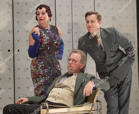 Lucy Cohu as Helen Hobart, Harry Enfield as Glogauer, Kevin Bishop as Jerry Hyland