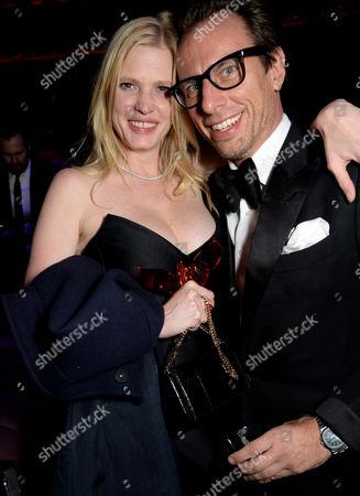 Stock Image of Lara Stone and Erik Torstensson