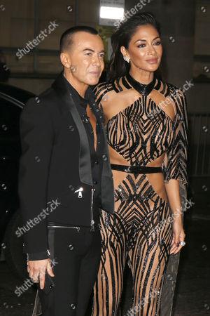 Julien McDonald and Nicole Scherzinger