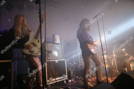 Editorial picture of Inheaven in concert, Potterrow, Scotland, UK - 05 Dec 2016