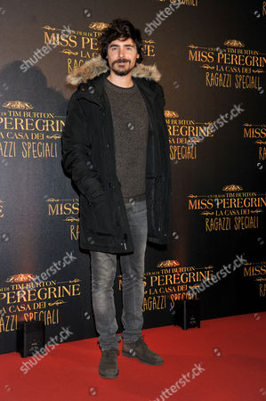 Editorial photo of 'Miss Peregrine's Home for Peculiar Children' film premiere, Rome, Italy - 05 Dec 2016