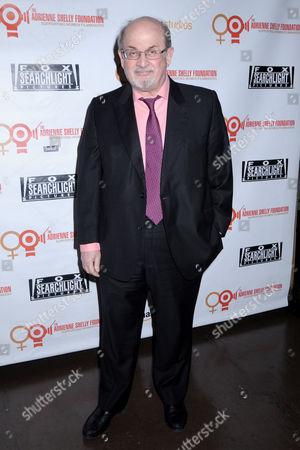 Stock Image of Salman Rushdie