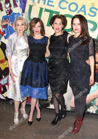 Editorial image of 'The Babylon Line' play opening night, New York, USA - 05 Dec 2016