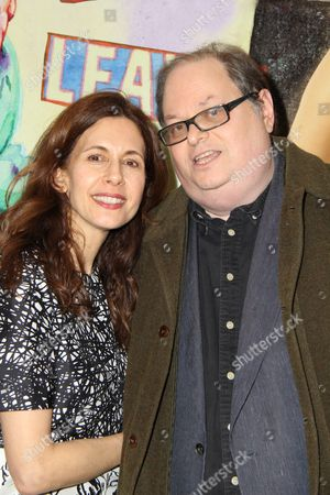 Stock Picture of Jessica Hecht, Playwright Richard Greenberg