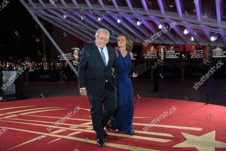 Dominique Strauss-Kahn and Myriam L'Aouffir