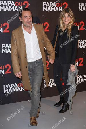 Gilles Lellouche and his girlfriend Alizee Guinochet