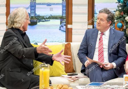 John Pilger, Piers Morgan