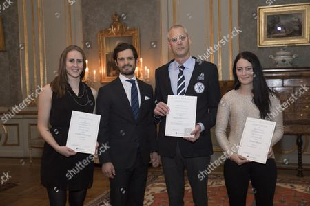 Jennifer Pettersson, Prince Carl Philip, Marcus Ronnmark, Linnea Nilsson