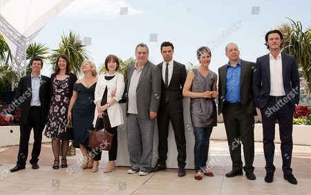 'Tamara Drewe' Photocall at the Festival De Palais During the 63rd Cannes Film Festival Moira Buffini Alison Owen Posy Simmonds Stephen Frears Dominic Cooper Tamsin Greig Bill Camp and Luke Evans